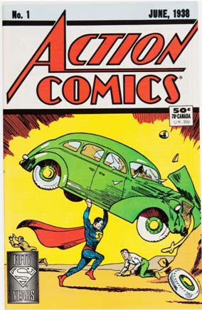 Action Comics #1: 1988 Newsstand/Direct Sale Edition