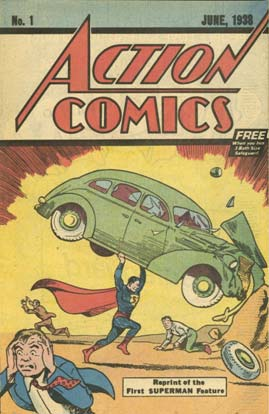 Action Comics #1: 1976 afeguard Editions