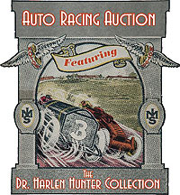 Auto Racing Sports Collectibles Catalog Auction