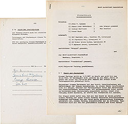 The First Recording Contract Signed By The Beatles, For The 'My Bonnie' Session (Germany, 1961)