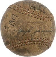 1907 Chicago vs. Detroit World Series-Deciding Game 5 Baseball