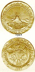 FIGURE 5: First photographic Image of the present coin