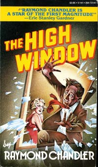 FIGURE 6: Cover of Raymond Chandler's book The High Window