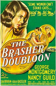 FIGURE 7: Movie Poster for The Brasher Doubloon