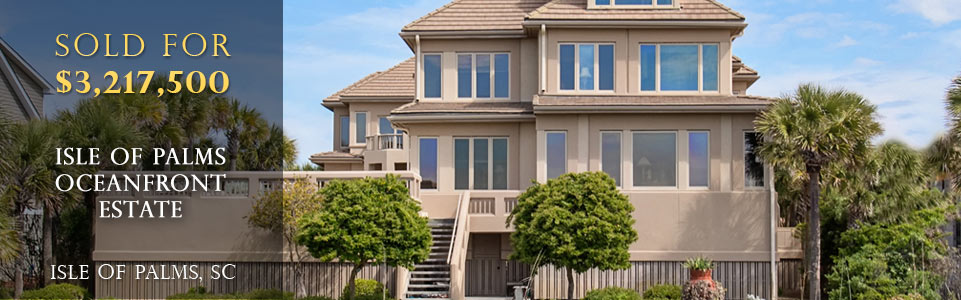 Isle of Palms Luxury Real Estate Sold for $3,217,500