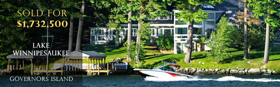 Lake Winnipesaukee Luxury Real Estate Sold for $1,732,500