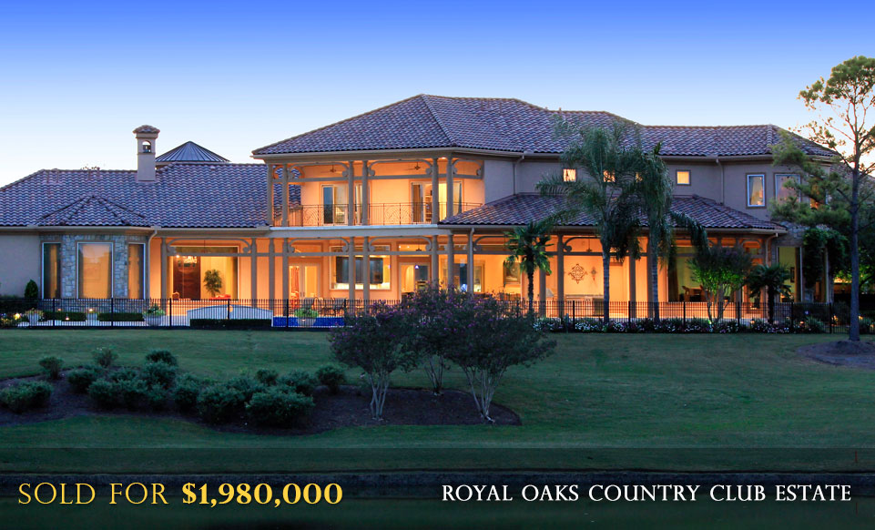 Royal Oaks Country Club Luxury Real Estate