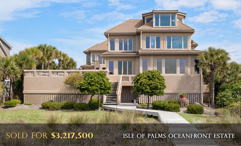 Isle of Palms Oceanfront Luxury Real Estate