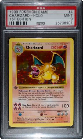 1999 Charizard 4/102 1st Edition Shadowless