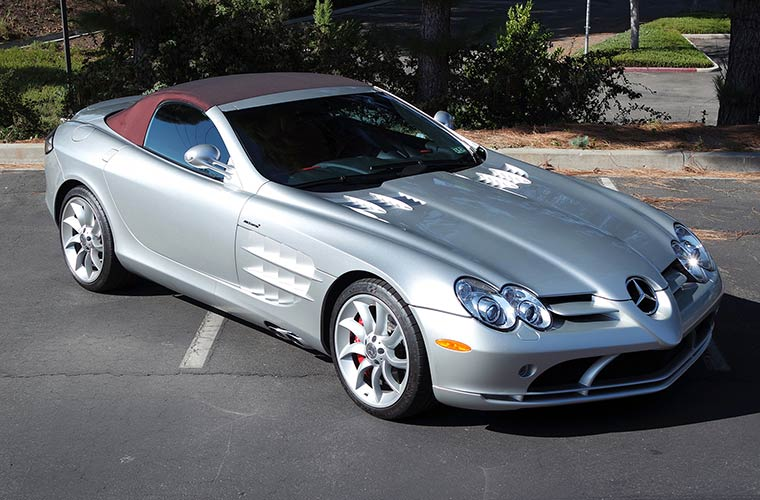 2008 Mercedes-Benz SLR McLaren Roadster, Lot #24