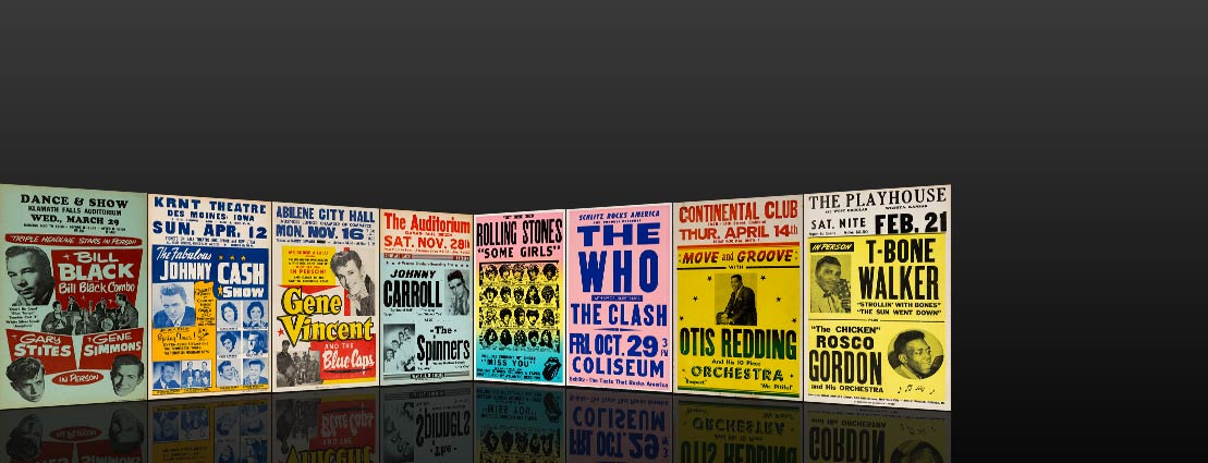 Featured Vintage Music Posters