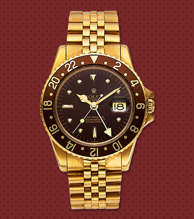 Rolex, 18k YG Ref. 1675, GMT-Master, From The Private Collection Of Hollywood Actor James 'Jimmy' Darren, circa 1972