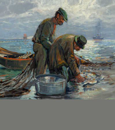 Paul Richard Schumann Fishermen