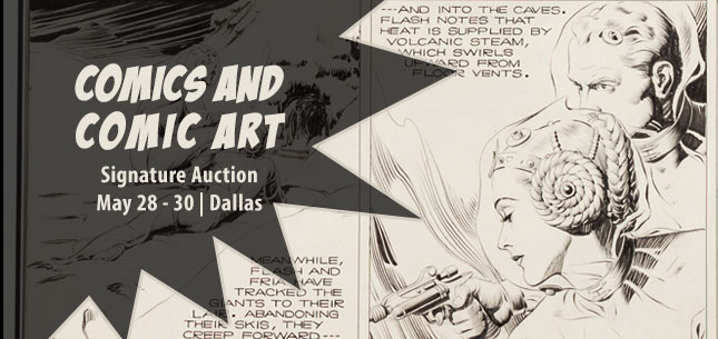 2015 May 28 - 30 Comics Signature Auction - Dallas #7136