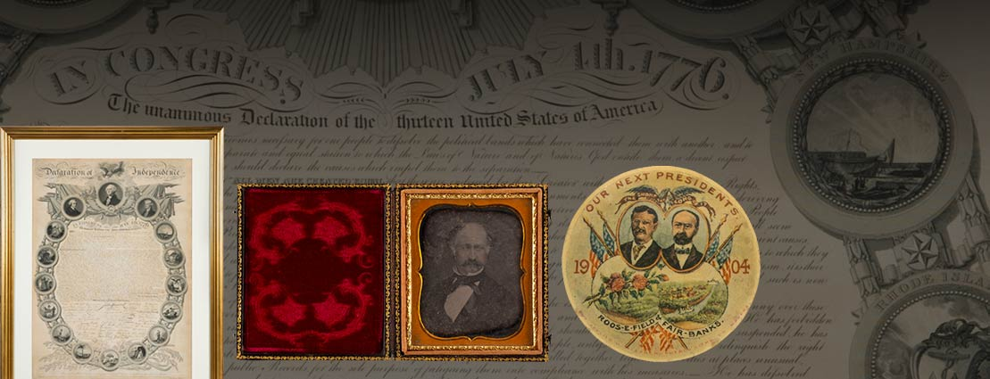 February 27 - 28 Americana & Political Signature Auction  #6235