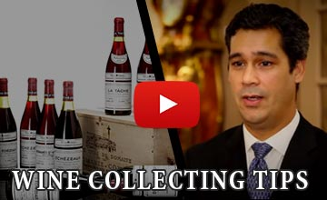 Image of Frank Martell Talking about Wine Collecting Tips
