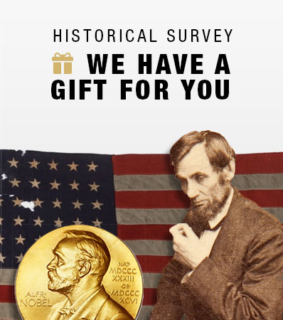 Historical Survey | We have a gift for you.