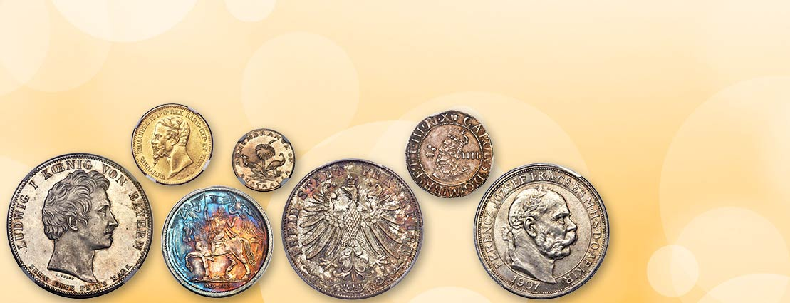 November 25 Further Selections from the Collection of an Engineer Monthly World and Ancient Coin Auction #271847