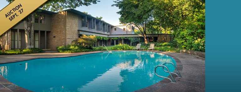 Luxury Real Estate Auction in Highland Park, Dallas, Texas