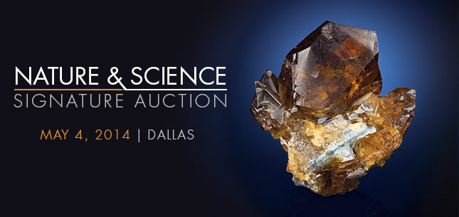 Nature & Science Signature Auction - May 4, 2014 in Dallas