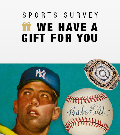 Sports Survey | We have a gift for you.