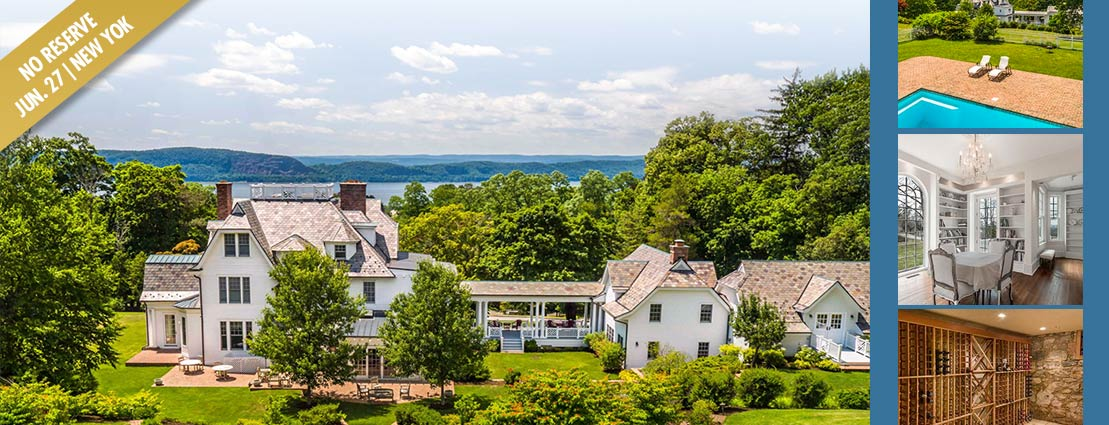 Manor on nearly 5 acres with Hudson River Valley Views