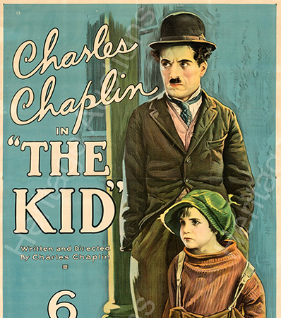 The Kid (First National, 1921). Very Fine- on Linen