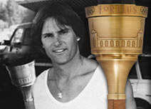 1984 Los Angeles Olympics Torch Carried by Caitlyn (Bruce) Jenner