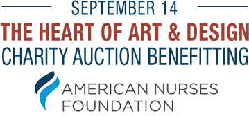 September 14 Heart to Art + Design Charity Auction Benefitting The American Nurses Foundation #773