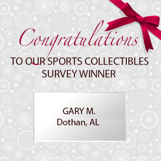 Congratulations To Our Sports Survey Winner