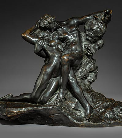 Auguste Rodin, Eternel printemps, deuxieme etat, premiere reduction, conceived in 1884