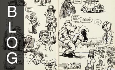 Robert Crumb - Complete Sketchbook Original Art