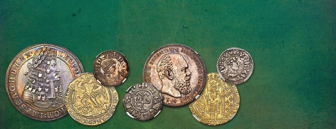 Featured World Coins of the Morris Collection