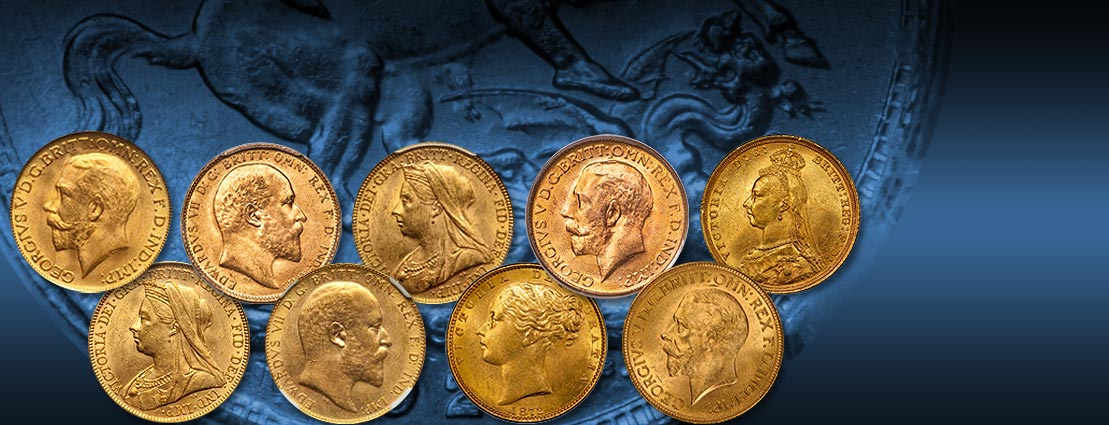 Featured Coins of the Caranett Collection of Sovereigns