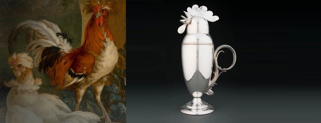 Circle of Peter Casteels (Flemish, 1684-1749) Domestic Fowl