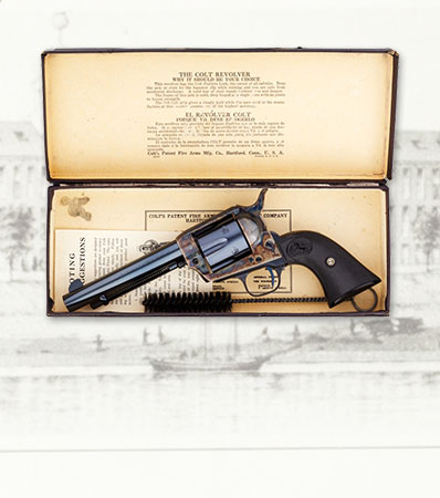 Exceptional Boxed Pre-War Colt Single Action Army Revolver
