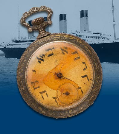TITANIC: Victim's Pocket Watch Offered By Family