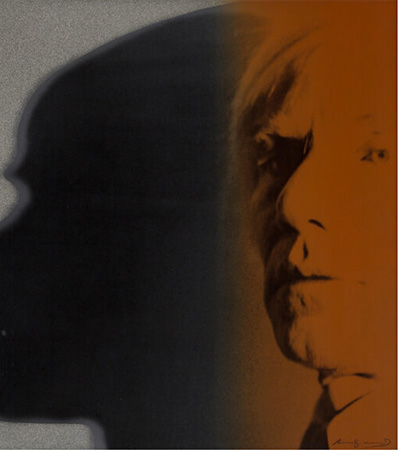 Andy Warhol The Shadow, from Myths, 1981
