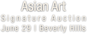 June 29 Asian Art - Beverly Hills #5340