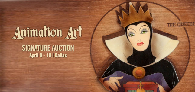 2015 April 9 - 10 Animation Art Signature Auction - Dallas #7108