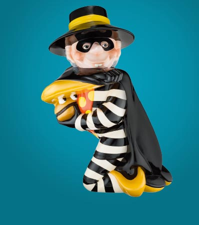 Hamburglar Tabletop Statue Prototype (McDonald's/Setmakers, c. 1980s).