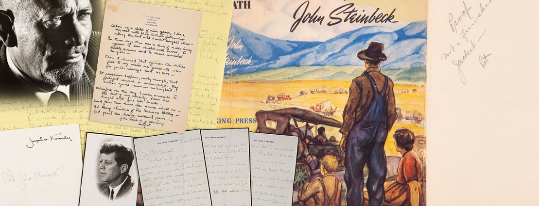 Historical Manuscripts of John Steinbeck Archives