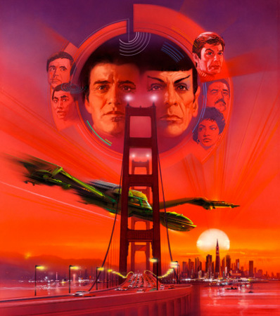 Star Trek IV: The Voyage Home by Bob Peak (Paramount, 1987)
