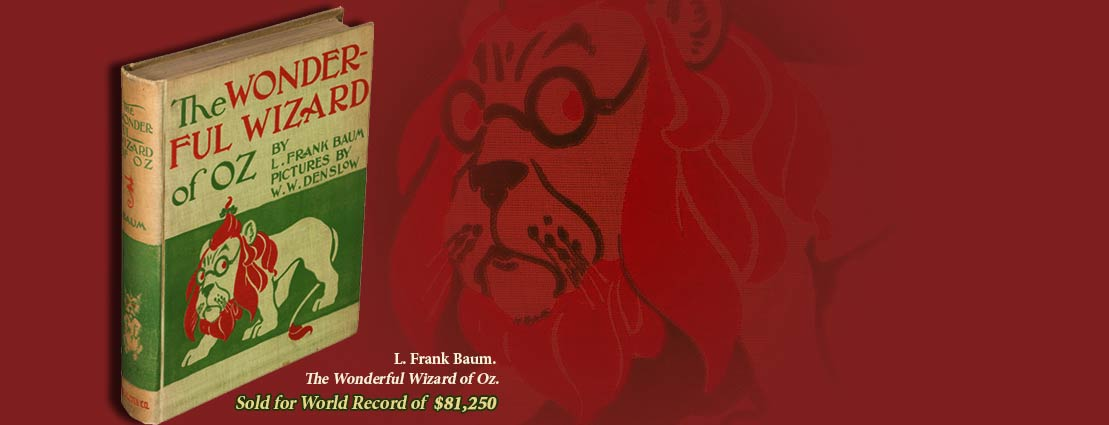 L. Frank Baum. The Wonderful Wizard of Oz.