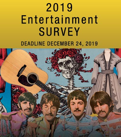 2019 Entertainment Survey