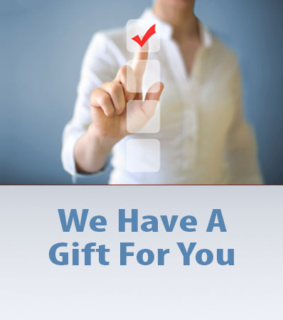 We have a gift for you