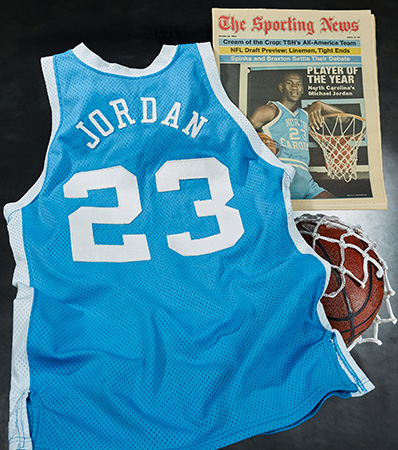1982-83 Michael Jordan Game Worn University of North Carolina Tar Heels Jersey from First 'NCAA Player of the Year' Season