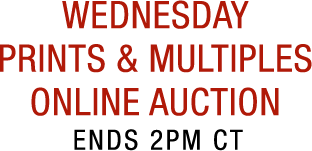 Weekly Prints & Multiples Online Auction