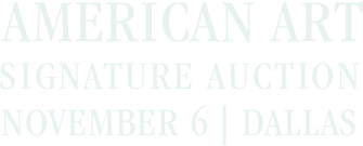 November 6 American Art Signature Auction - Dallas #8013