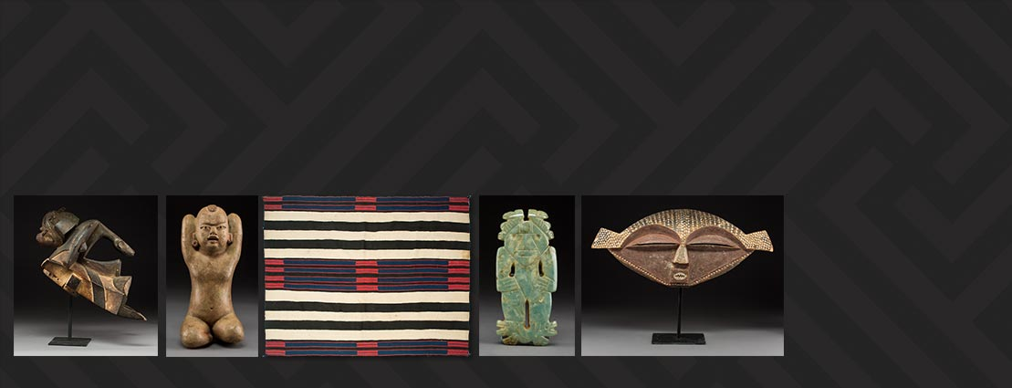 Chief Blanket and other Featured Ethnographic Art